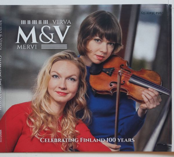 Mervi & Virva Celebrating Finland 100 years-CD